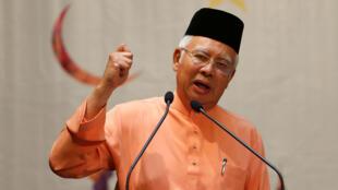Najib Razak, le Premier ministre malaisien à Kuala Lumpur, le 21 juillet 2016.