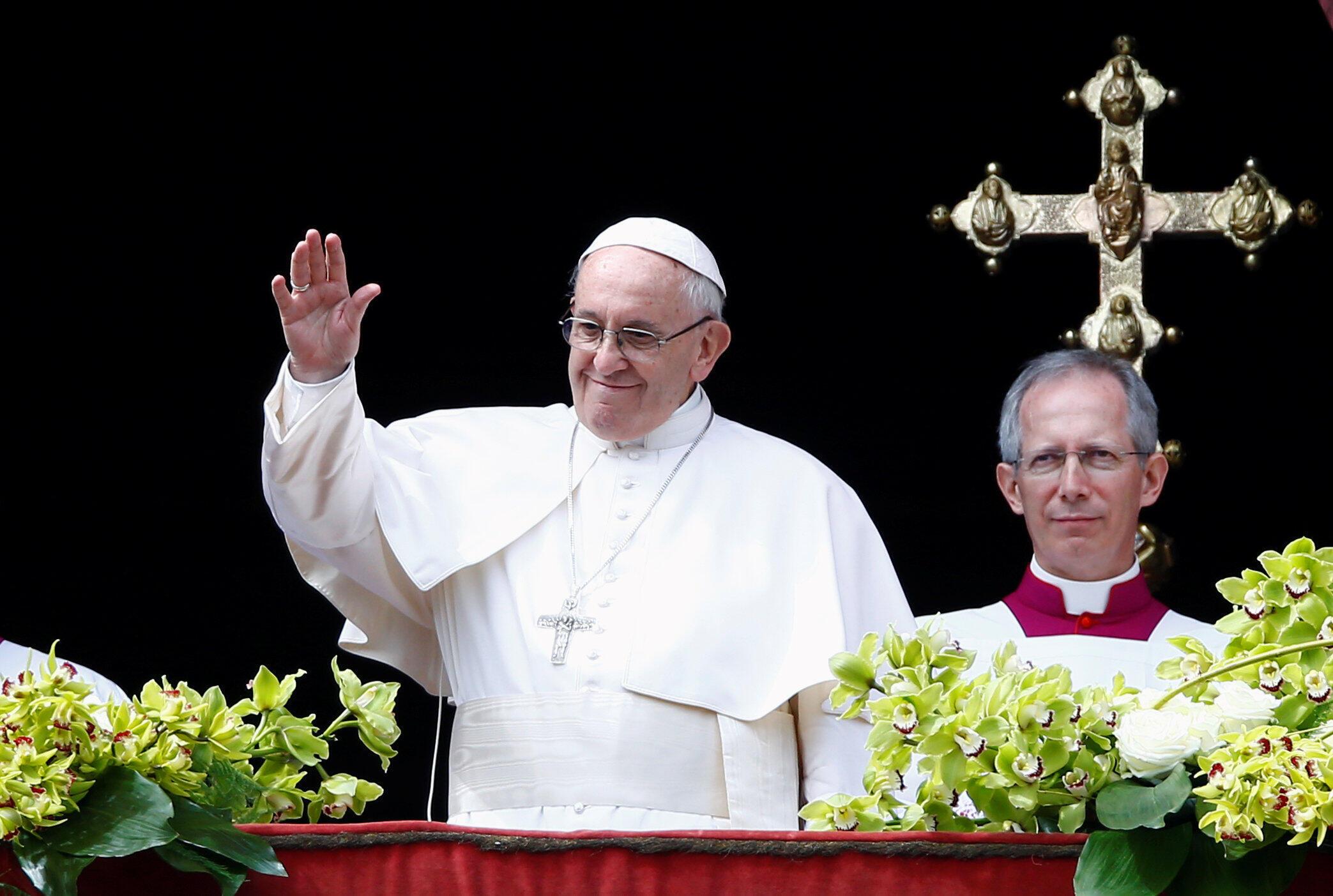 Kiongozi wa kanisa Katoliki Papa Francis.