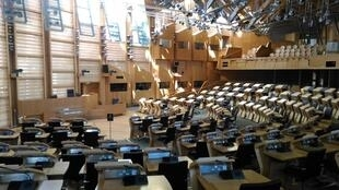 The Scottish parliament.