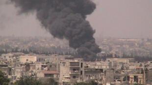 A cidade de Homs é um dos principais alvos dos ataques do regime sírio.