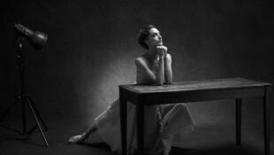 La danseuse étoile Dorothée Gilbert, photographiée par James Bort.