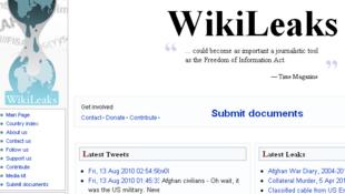 វិបសៃត៍របស់ Wikileaks