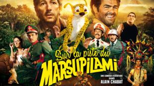 La película 'Sur la piste du Marsupilami' ha sido la más taquillera del cine francés en 2012.