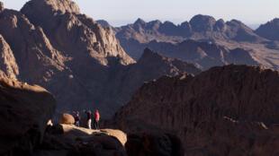 Le Mont Sinaï.