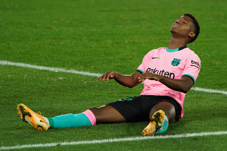 Ansu Fati, avançado hispano-guineense do FC Barcelona.