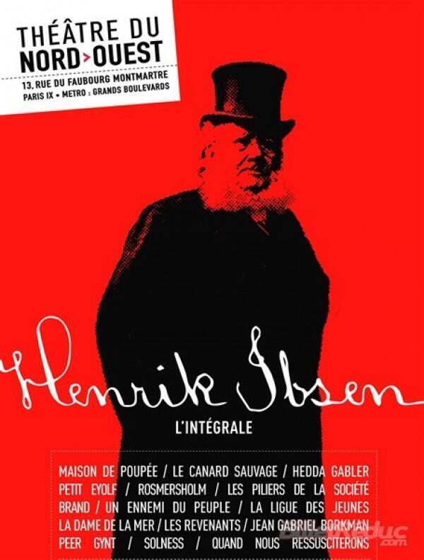 اجرای مجموعهای از آثار هنریک ایبسن، نمایشنامهنویس نروژی در پاریس