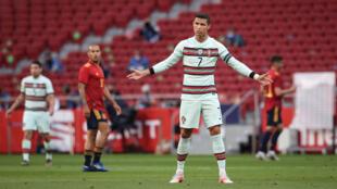 Portugal - Futebol - Desporto - Selecção Portuguesa - Euro 2020 - Euro 2021 - Cristiano Ronaldo