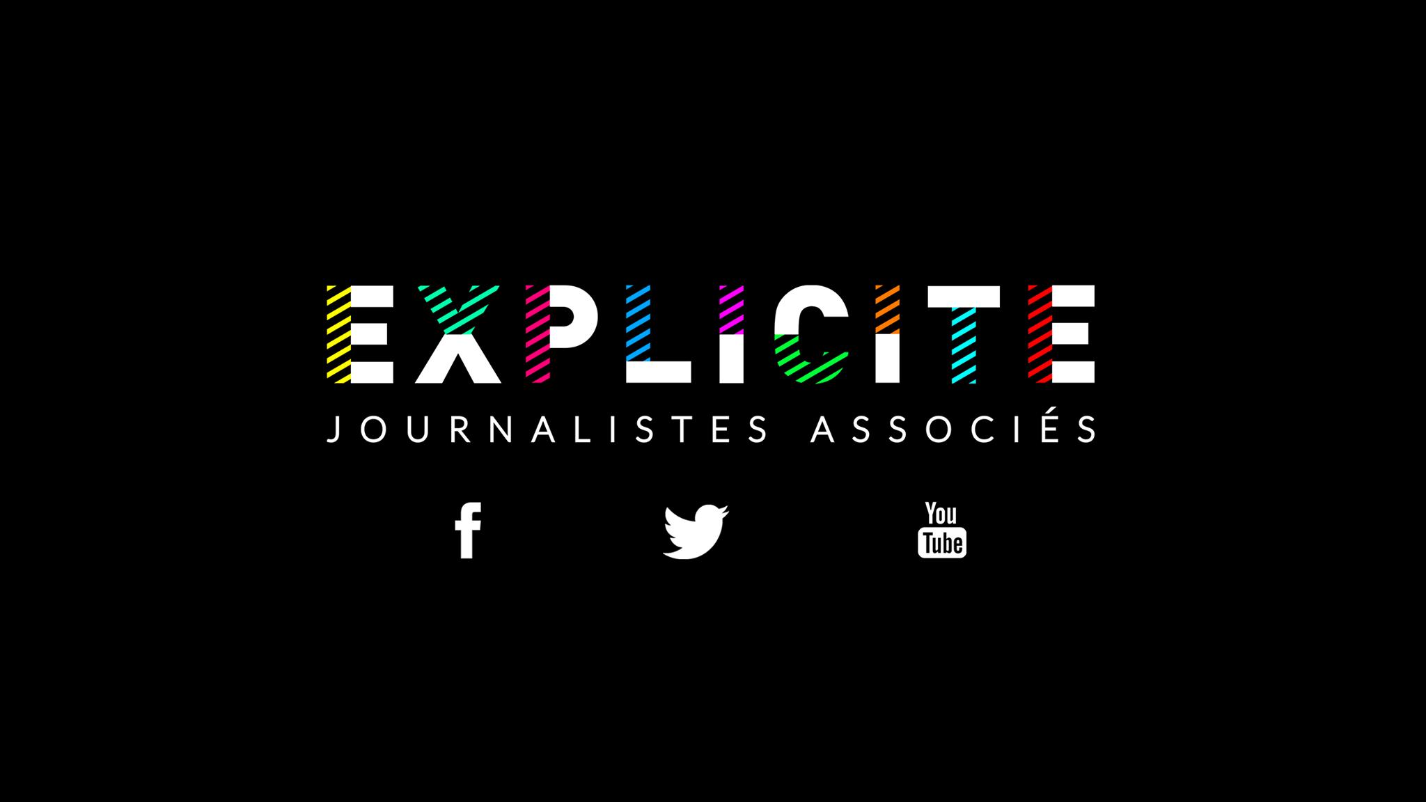 Capture d'écran du logo d'Explicite sur la page d'accueil du site explicite.info.