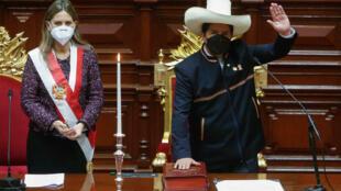 000_9H38WG Pérou président Pedro Castillo