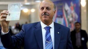 قاسم شعله سعدی، حقوقدان و تحلیلگر مسائل ایران.