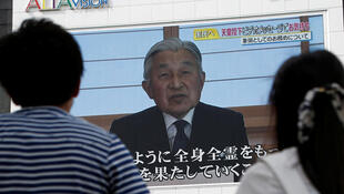 L'empereur du Japon s'est adressé à la télévision, le 8 août 2016.