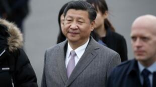 中國主席習近平2015年11月29日到達巴黎參加氣候峰會