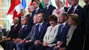 Các đại diện tham dự Hội nghị bộ trưởng Tài Chính G7 tại  Whistler, Canada. Ảnh ngày 01/06/2018.