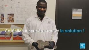 Capture d'écran d'un reportage de France 24 consacré à Moussa Thiam.