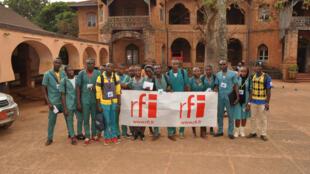 Le Club RFI Foumban, Cameroun.