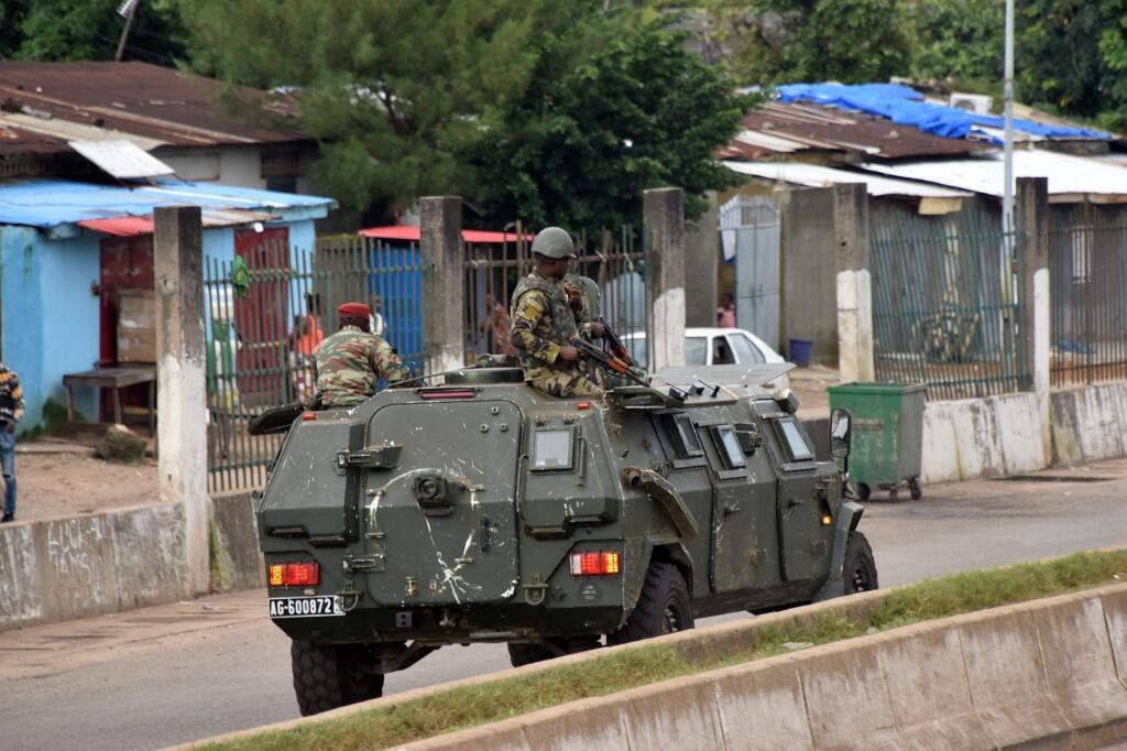 Patrouille des forces armées guinéennes, le 5 septembre, à Conakry. (Image d'illustration)