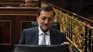 Spain's Prime Minister Mariano Rajoy, 11 July 2012