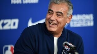 Marc Lasry, co-owner of the NBA Milwaukee Bucks, says he thinks the league season stopped due to the coronavirus outbreak could resume in six to eight weeks in one or two cities
