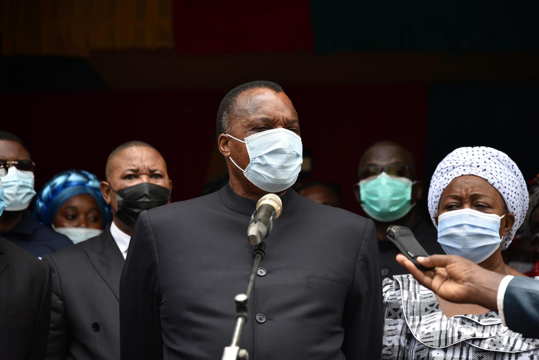 Le président de la République du Congo, Denis Sassou Nguesso.