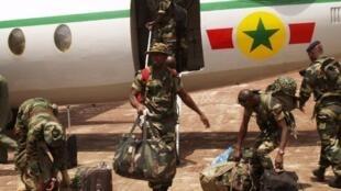 Dakarun Najeriya da aka aika da su a kasar Guinea Bissau