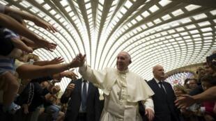 Đức Giáo Hoàng Phanxicô, tại Roma ngày 12/09/2015.