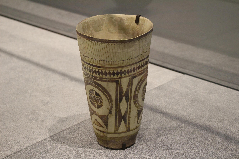 Vase à décor géométrique et animalier, Iran, Susa