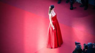 La montée des marches au Festival de Cannes.