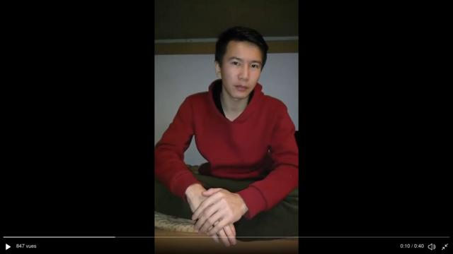 被困在乌克兰的新疆哈萨克难民在网络呼吁求助(photo:RFI)