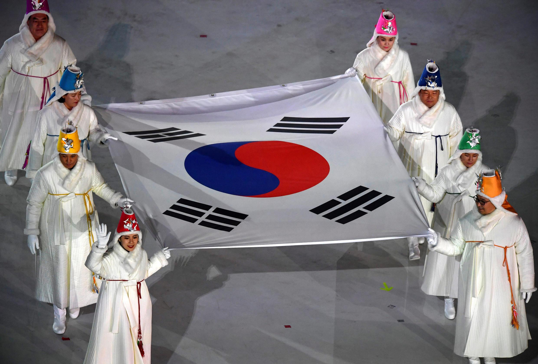 مراسم افتتاحیه المپیک زمستانی ۲۰۱۸ در کرهجنوبی