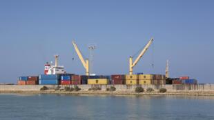 Vue du port de Berbera, dans le Somaliland