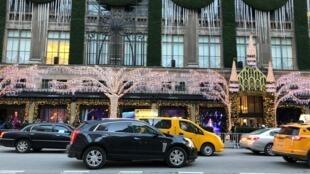 Illuminations de Noël sur la 5e avenue, à New York, le 3 décembre 2019.