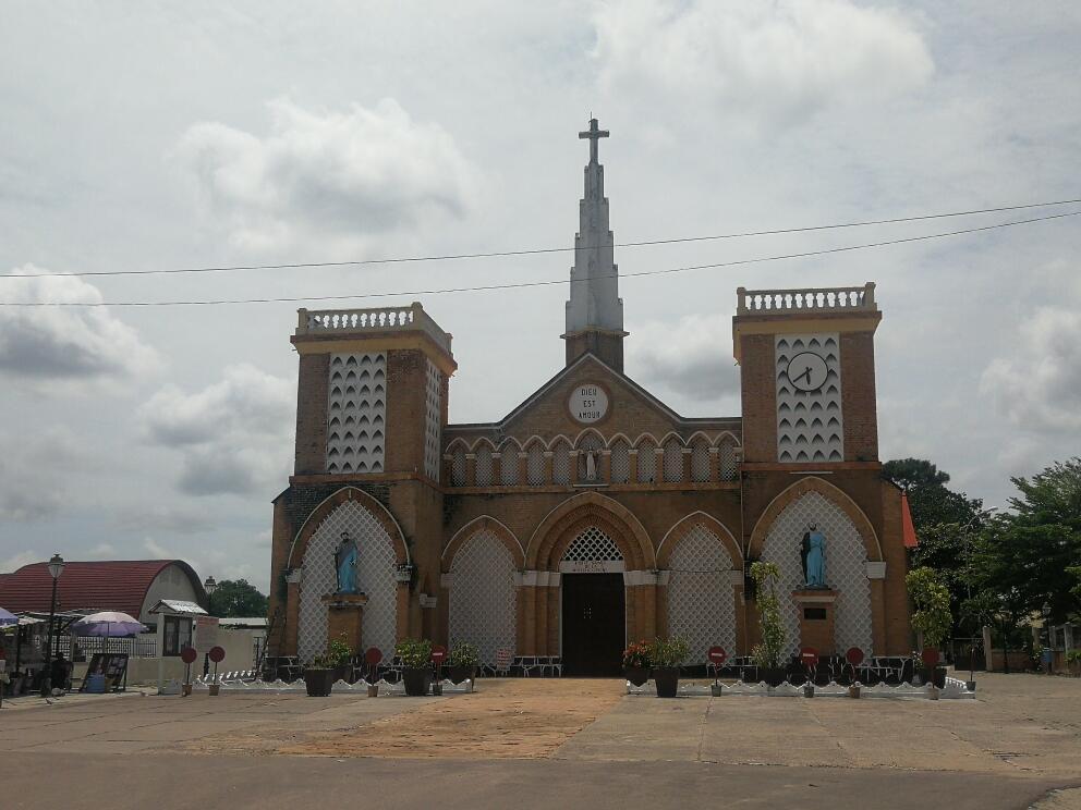 Congo Brazzaville - cathédrale sacré-coeur