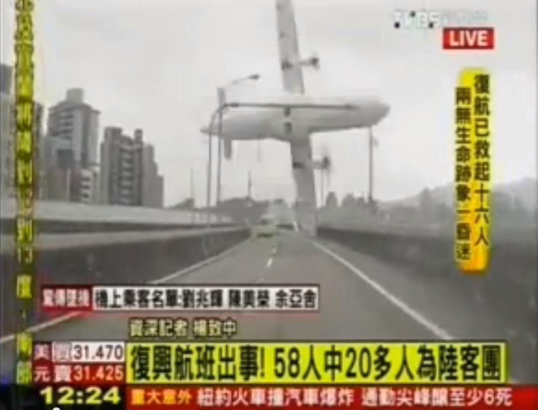 Hoyon Bidiyo ya nuna yadda Jirgin Taiwan na TransAsia ya yi hatsari
