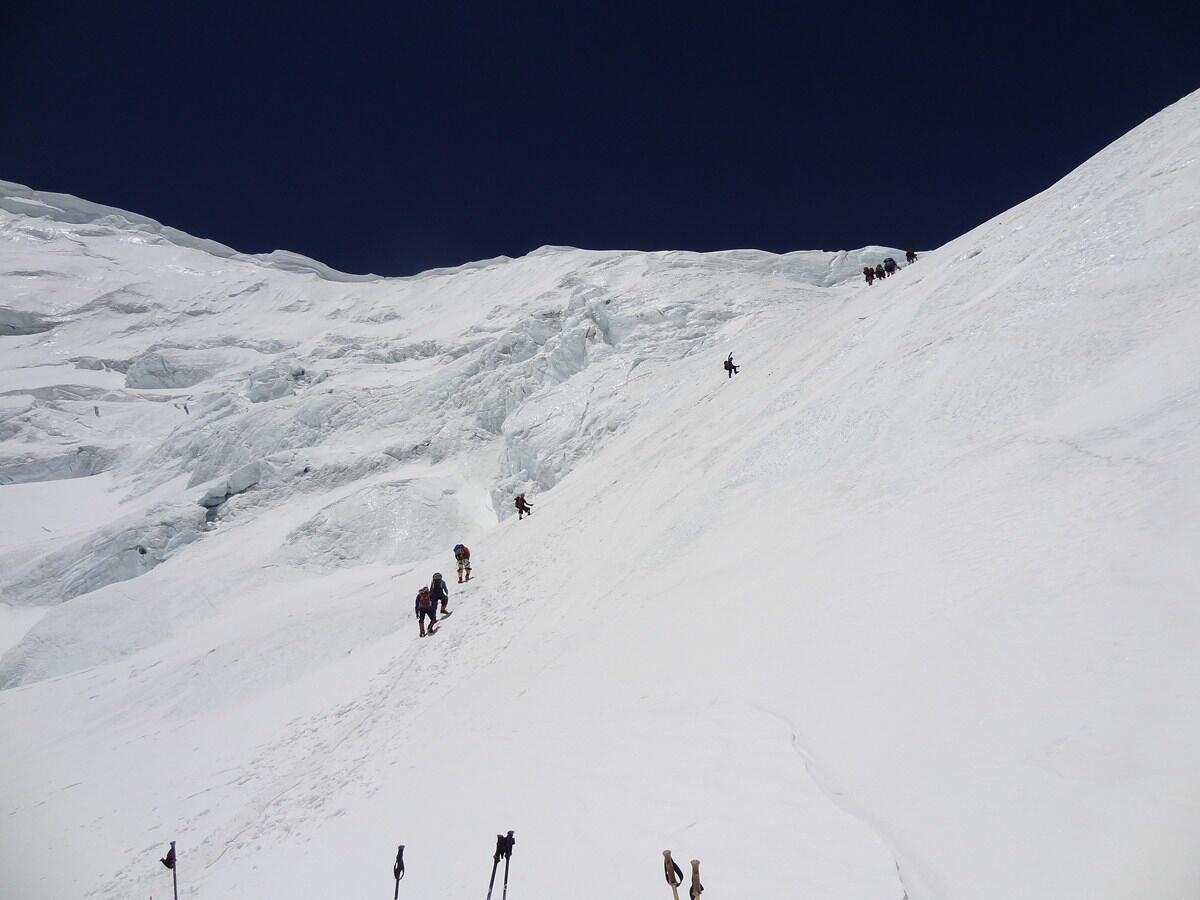 На пути к вершине Эвереста