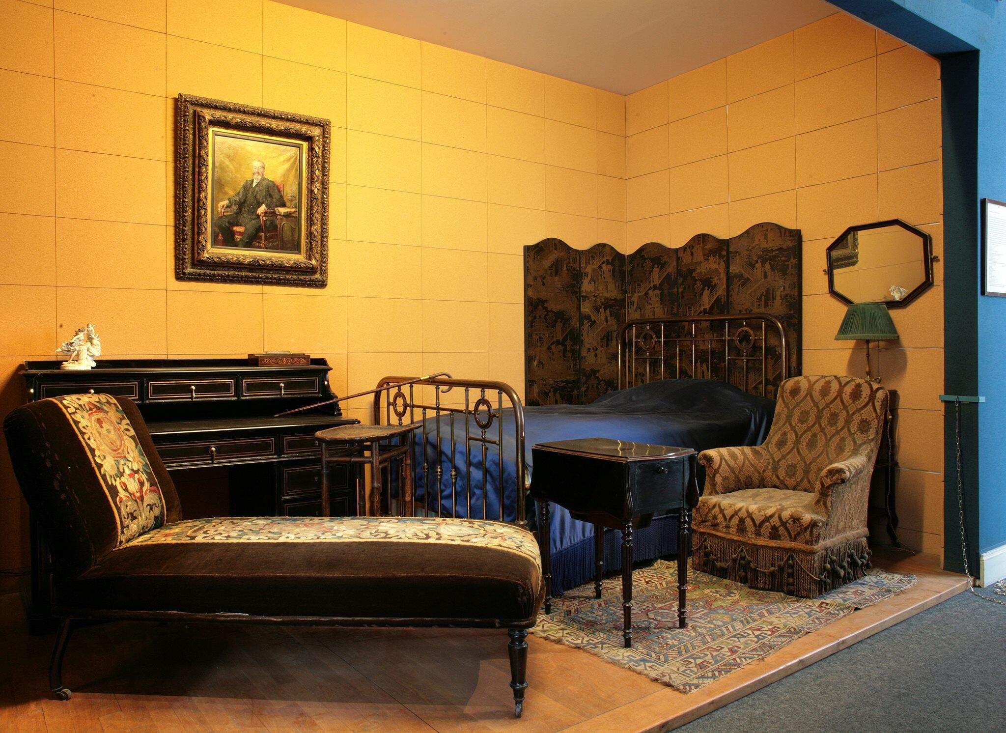 Marcel Proust's room at the Musée Carnavalet in Paris