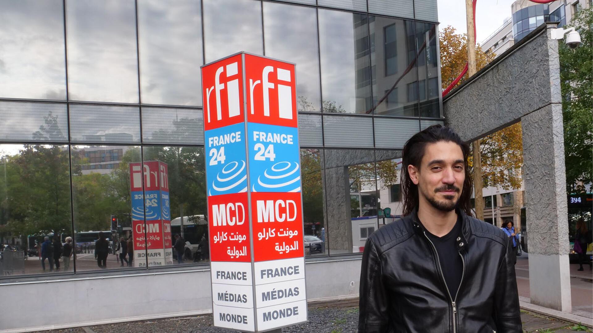 Amine Metani à RFI.