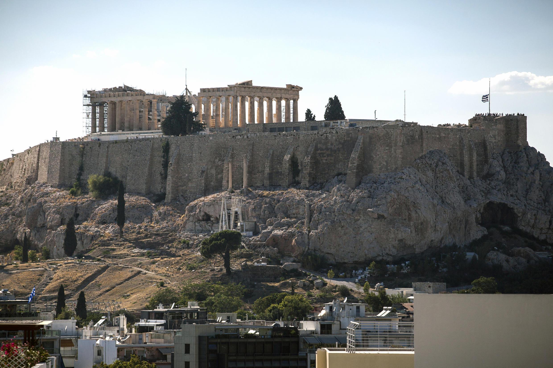 L'Acropole d'Athènes photographié en juillet 2016.
