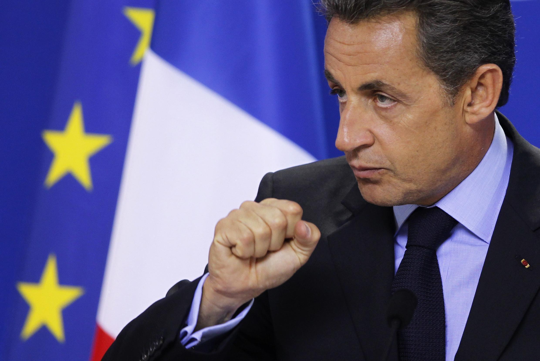 O presdiente francês, Nicolas Sarkozy