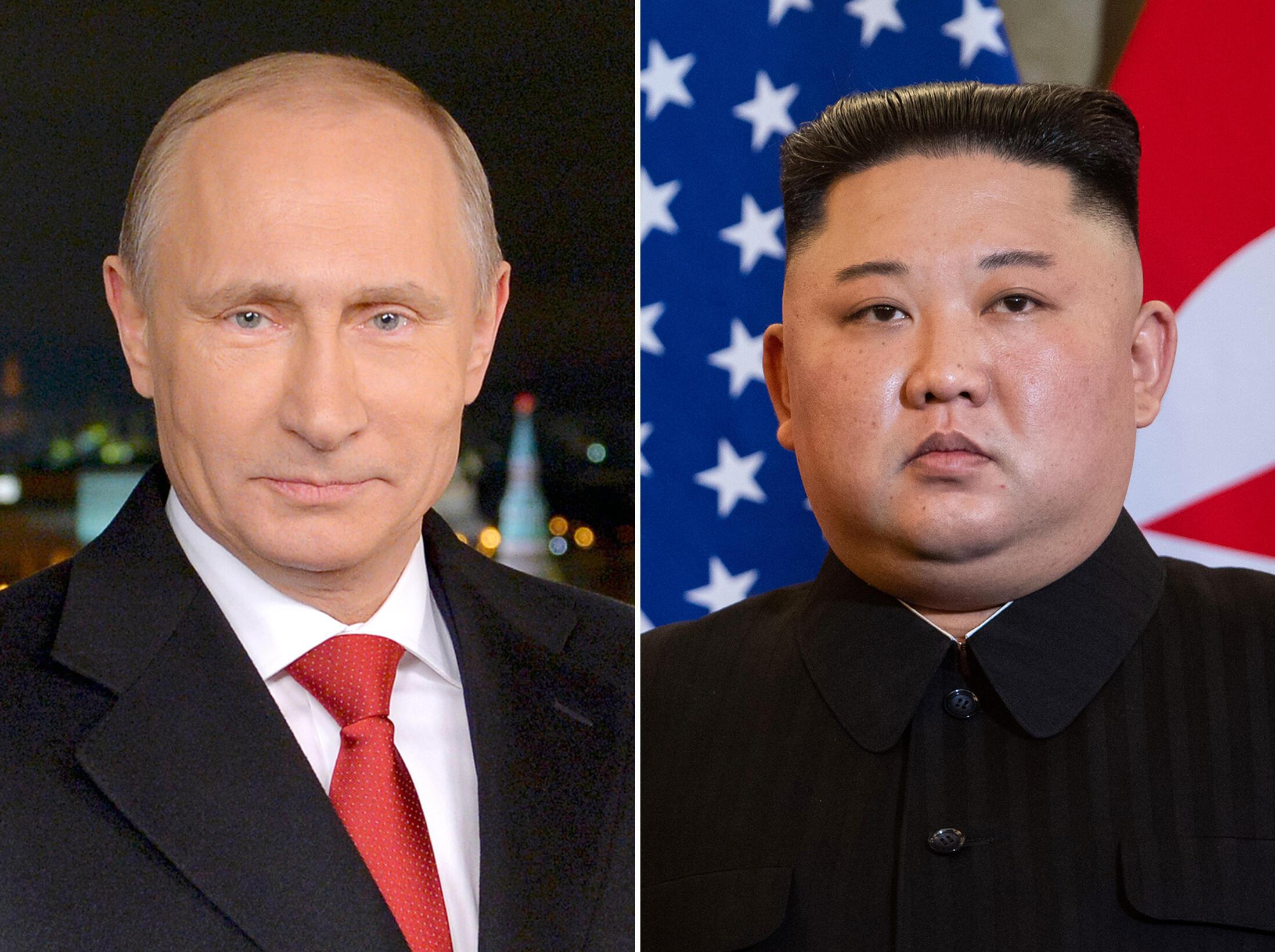 Os dirigentes russo e norte-coreano, Vladimir Putin e Kim Jong-Un, poderiam avistar-se já no final deste mês.