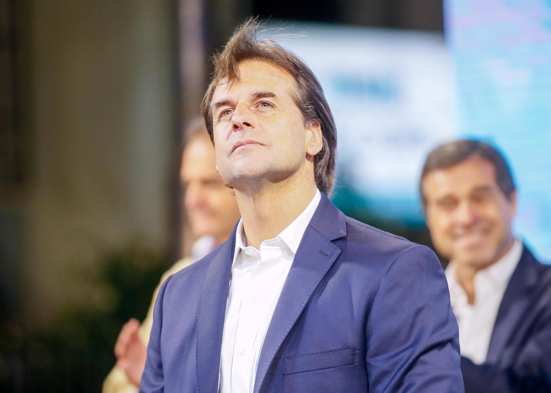 Luis Lacalle Pou asumirá a presidência do Uruguai em 1° de março de 2020.