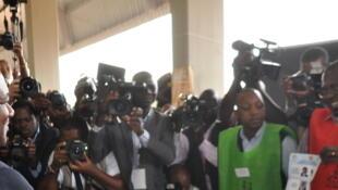 Filipe Nyusi, vencedor das presidenciais moçambicanas