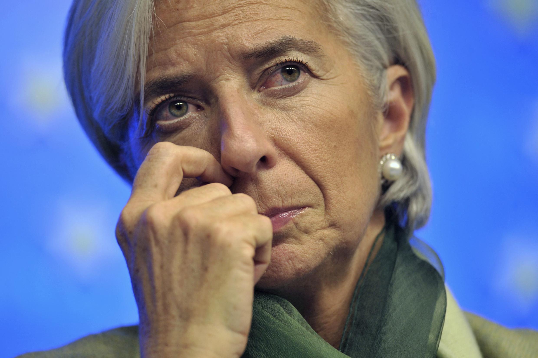A diretora do FMI Christine Lagarde é acusada de envolvimento em desvio de dinheiro público