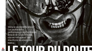 Capa do jornal francês Libération desta quinta-feira, 18 de julho.