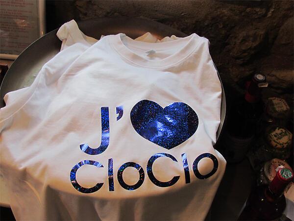 Objet dérivé «Cloclo», vendu au Moulin de Dannemois.