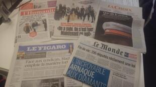 Diários franceses 28.02.2018
