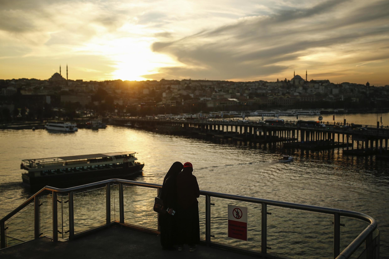 法廣存檔圖片 : 土耳其伊斯坦布爾  Image d'archive RFI : Une vue d'Istanbul,le 13 octobre 2020.