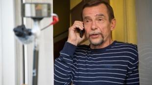 Le fondateur de l'ONG Lev Ponomarev (ici en 2013) est décidé à poursuivre son combat en faveur des droits de l'homme.