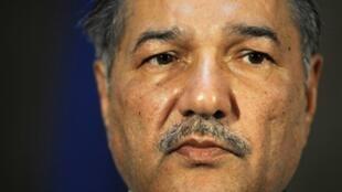 Ahmed Mukhtar, ministre pakistanais de la Défense.