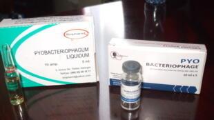 Fagos usados nos tratamentos contra bactérias resistentes.