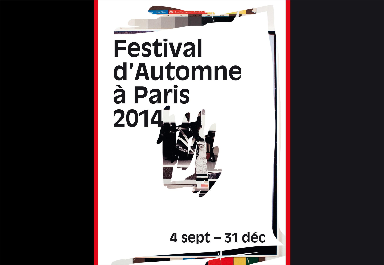 L'affiche du Festival d'Automne à Paris.